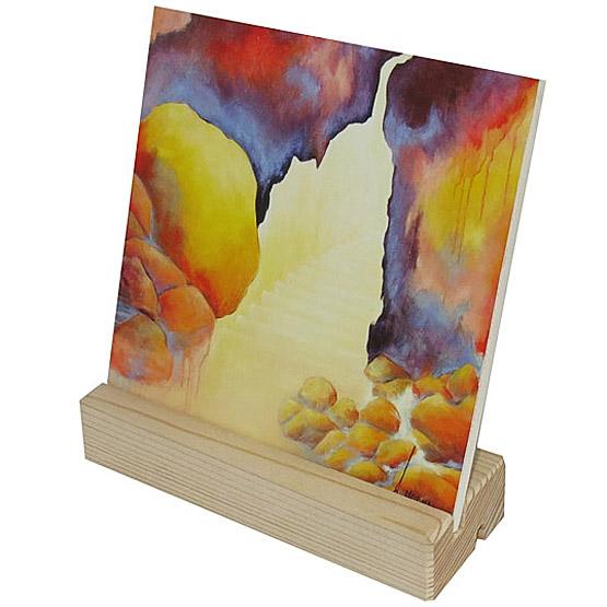 Schilderij giclee Eeuwig Licht, belijdenis kado, Poort van licht Atelier for Hope Doetinchem