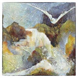 Bijbelse Kaart Bron van Levend Water - duif waterval Atelier for Hope