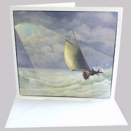 Kaart bijbels Ruwe Stormen, Christelijke wenskaarten Atelier for Hope Doetinchem