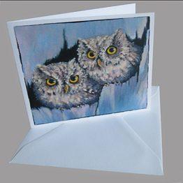 kaart uiltjes kunstkaarten van schilderijen Atelier for Hope Doetinchem