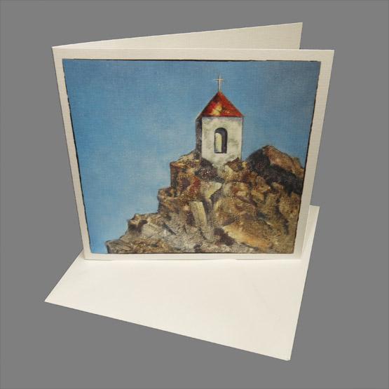kunstkaart kaart baken van hoop - bemoediging Atelier for Hope Doetinchem kaarten