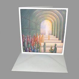 Christelijke Bijbelse kaart Kinderen van het licht