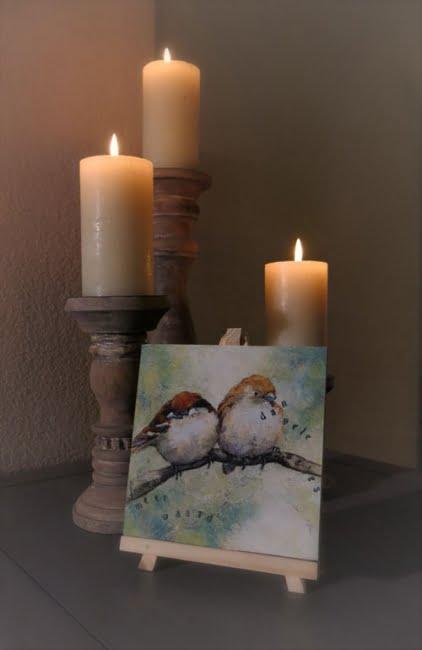 Schilderij meer waard dan vele musjes Atelier for Hope Doetinchem Christelijke kunst kado's Belijdenis kado