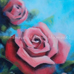 Schilderij Rode Rozen Atelier for Hope Doetinchem