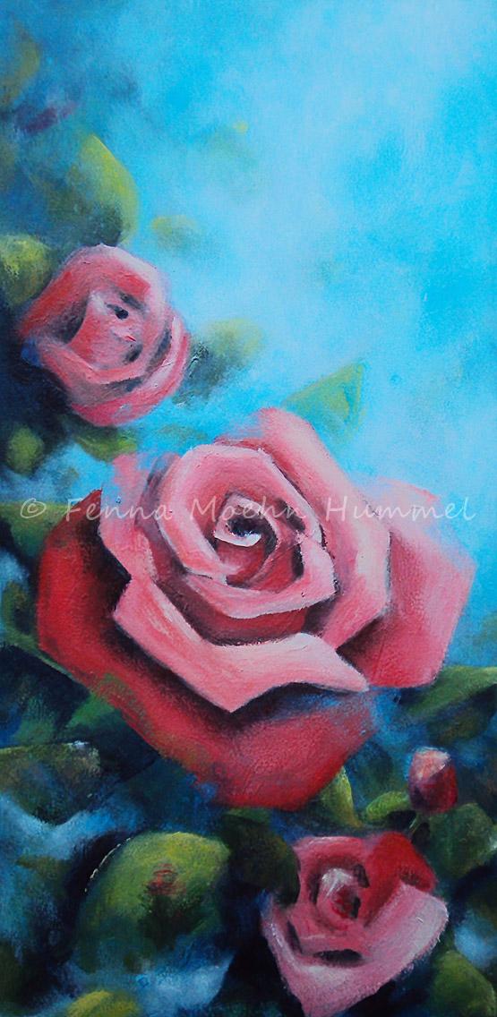 Schilderij Rode Rozen Atelier for Hope Doetinchem