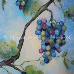 Schilderij Druiven Atelier for Hope Doetinchem