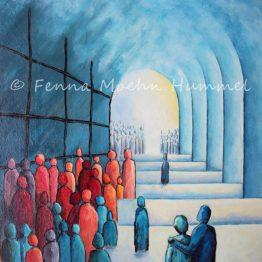 Bijbels Christelijk schilderij Kinderen van het Licht Atelier for Hope