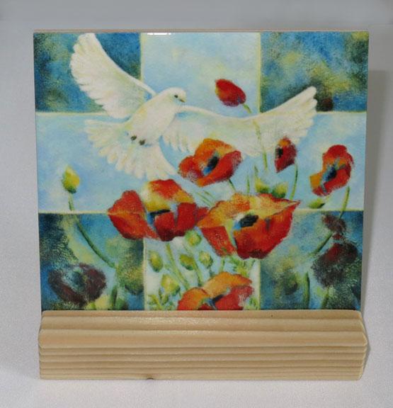 Keramische Tegel Schilderij Leven Atelier for Hope Doetinchem