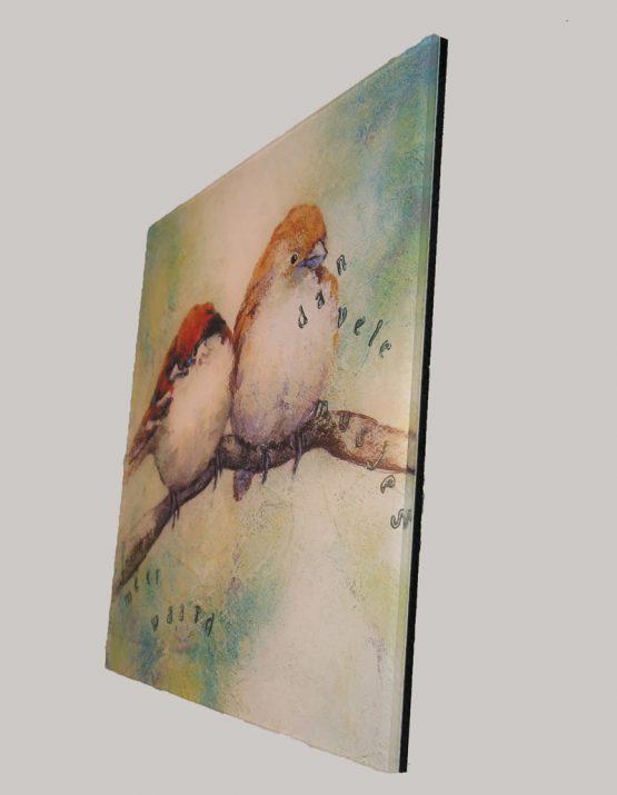 Dibond schilderij reproductie detail foto Musjes Atelier for Hope Doetinchem